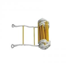 5m-100m逃生软梯尼龙软梯救生绳梯安全逃生攀爬软梯高空作业软梯