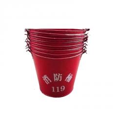 消防器材 黄沙桶 水桶 扑火工具 半圆型消防桶