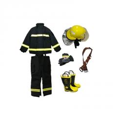 97款作训服消防战斗服五件套抢险救援服分体 阻燃避火服