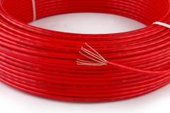 PVC阻燃电线ZR-BV-10平方 新威讯大为厂家直销国标铜芯单股电线