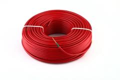 新威讯 国标电线电缆生产厂家BVV-6 家用铜芯 双层皮绝缘电线 举报 混色批发