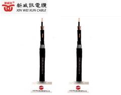 铠装 控制电缆 国标优质线材KVV22-4*2.5平方电线电缆生产厂家 黑色