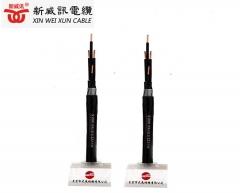广东线缆专业生产厂家优质国标消防配线 KVV-4X2.5 消防控制电缆 黑色