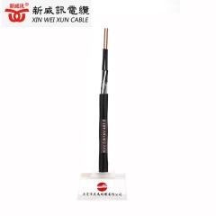 电线电缆广东厂家国标 KVV 4*1.5 平方消防电缆工程用控制电缆 黑色