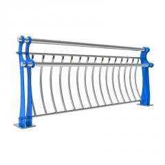 定制人行道防撞护栏桥梁防撞护栏高速桥梁栏杆碳素钢道路防撞栏