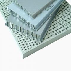 【厂家直销】铝合金建筑材料幕墙铝蜂窝板 防火防腐金属铝蜂窝板