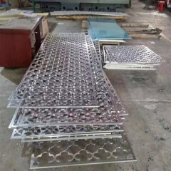 广东铝单板厂家直供 热销铝激光雕刻板 艺术雕刻墙板天花板吊顶
