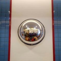 半球镜1/2球面镜60CM 反光镜广角镜工厂车间仓库超市转角凸面镜