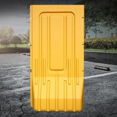 新料三孔水马1.8市政围挡塑料围栏马路护栏小水马防撞桶注水围挡