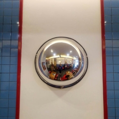 60CM半球镜1/2球面镜 反光镜广角镜工厂车间仓库超市转角凸面镜