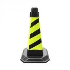反光橡塑方锥橡胶路锥请勿泊车专用车位禁止停车EVA方锥路障隔离