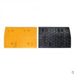 减速带橡胶公路道路减速板汽车车库斜坡限速缓冲带铸钢塑料减速垄