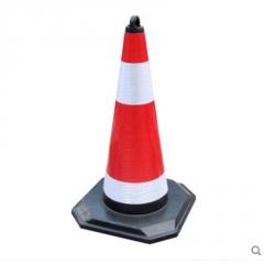 塑料路锥方锥反光锥禁止停车桩警示牌路障请勿泊车固定雪糕筒定制