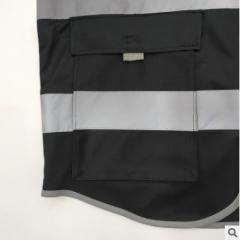厂家直销多口袋反光服反光马甲 交通施工马甲反光衣安全背心印字
