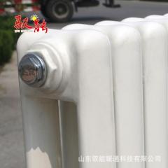钢制暖气片 50*25圆片头钢二柱 钢制暖气片家用 大水道散热器
