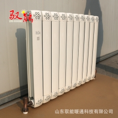 钢铝复合暖气片厂家直销 壁挂式家用暖气片 串片铝合金暖气片批发