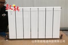 铜铝复合暖气片 132*60双水道散热器 中心距600暖气片批发