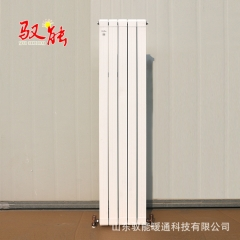 厂家直供定制铜铝复合散热片 家用1800铜铝暖气片 注水加热暖气片