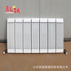 定制各类暖气片 铜铝复合132*60双水道散热器 中心距600暖气片