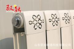 中心距1800mm 家用钢制水暖散热器厂家直销钢制双柱家用暖气片