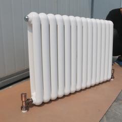 定制家用暖气片 50*25圆片头钢制暖气片 壁挂式注水散热器批发