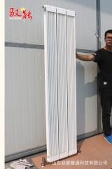 加工定制13260铝铜复合式散热器 家用壁挂式暖气片 喷塑暖气串片
