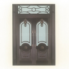 厂家供应农村别墅大门铜门客厅庭院门家用大门可定制