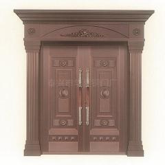 厂家直销 别墅大门 双开门 铜对开门 入户门 进户门 支持定制