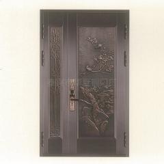 泰兴市华夏铜门 不锈钢双开大铜门 庭院别墅门 铝合金门 镀铜门