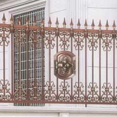 厂家直销欧式铝艺别墅庭院铜门  家用大门镀铜门