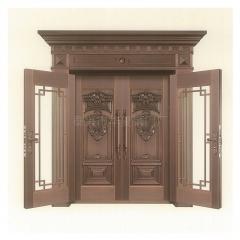 厂家直销 铜门 四开门 对开门 别墅庭院门 可定制双开门