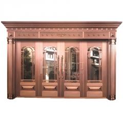 厂家直销 古建门镂空雕花隔断中式装修古建大门定做 制作仿古门