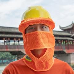 反光遮阳帽檐 简易安全帽帽套 遮阳防晒透气遮阳板帘防紫外线帽檐