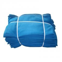 建筑防护密目网 建筑工地蓝色聚乙烯安全网 批发蓝色阻燃密目网