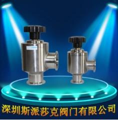厂家供应高真空手动挡板阀 GD-J125 不锈钢挡板阀 波纹管密封 GD-J125 碳钢