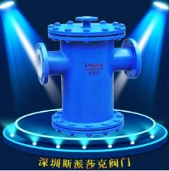 桶式衬氟过滤器直通蓝式衬氟焊接衬氟过滤器 SBL-F46DN 25