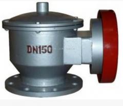 铸钢不锈钢304碳钢法兰 全天候防爆阻火呼吸阀ZFQ-IIDN25