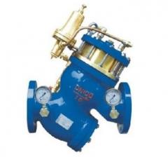 球墨铸铁水利法兰YQ9001X活塞式减压阀 dn40