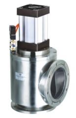 不锈钢304/316高真空气动挡板阀GDQ-JS100 200 300真空气动角阀