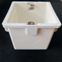 阻燃86线盒 线管配件 PVC电线管 86型加暗盒 接线盒单盒 厂家直销