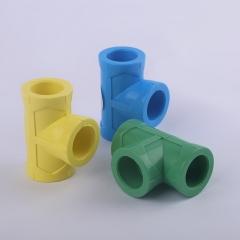 现货供应 PPR加厚全塑热熔等径三通 PPR水管配件 规格型号齐全
