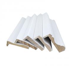 门套线实木包边装饰木线条白色木质窗套定制封边条原木7字L线条