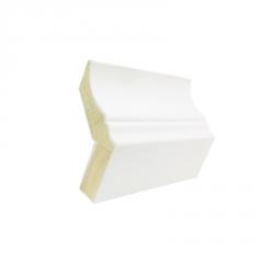 威皇厂家直销白色实木顶角线定制松木欧式阴角线条衣柜顶线装饰条