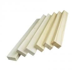 松木实木木线条 定制L型内框龙骨绷画木条 威皇厂家直销 龙骨线条
