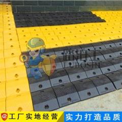 广州抗压铸钢道路减速带250*350*50缓冲带道路减速垄高速公路专用