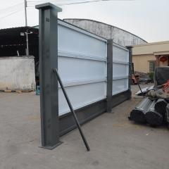 厂家直销广州新标准建筑围蔽装配式钢板围档可定制高度2米2.5米高