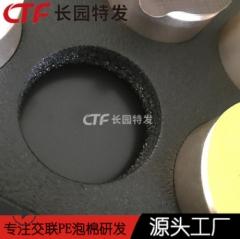 源头供应IXPE礼品盒包装材料XPE小碗茶包装内托片材供应商