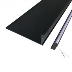 全铝层板灯带嵌入式灯条 层板酒柜灯衣柜灯 双面发光层板灯书柜灯