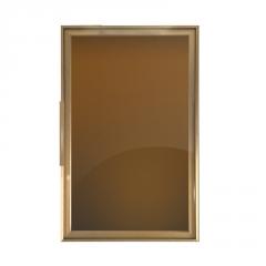佛山工厂批发高端极简玻璃门材料 铝框门 简欧轻奢风格衣柜门材料