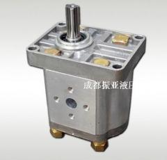 法兰接头进出油口法兰盘接头1/2,M18/M22液压接头CBN/CBT齿轮泵